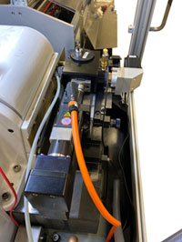 Improving operator and machine efficiencies through automatic work wheel dressing