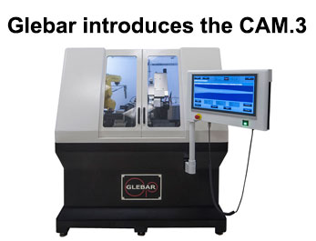 Glebar introduces the CAM.3 micro grinder