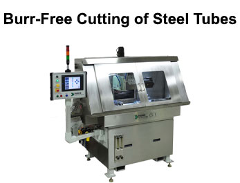 Case Study, Burr-Free Cutting of Steel Tubes on the Tridex Technology CS1-E Electrochemical Cutoff Machine