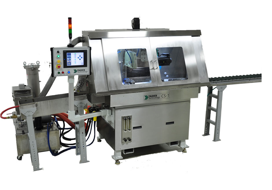 Tridex Technology CS1-E Burr-Free Electrochemical Cutoff Machine