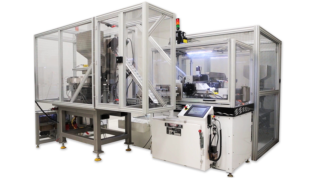 Fully Automated Zero Defect Auto Cell | 2 Parts Per Second with Packaging