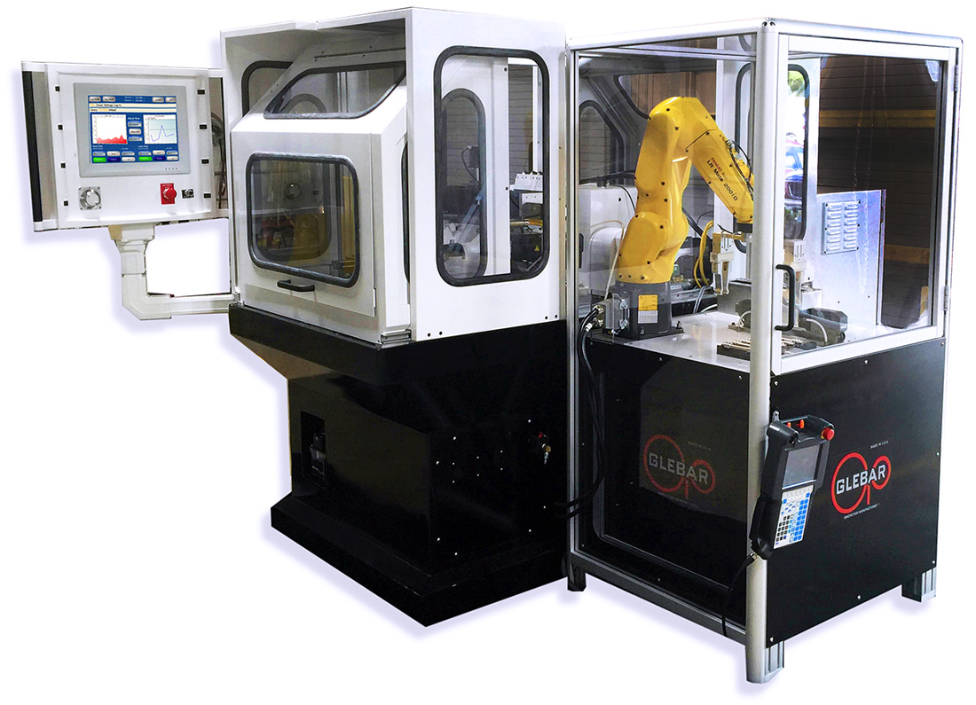 GT-610 CNC with Robot (rear view)