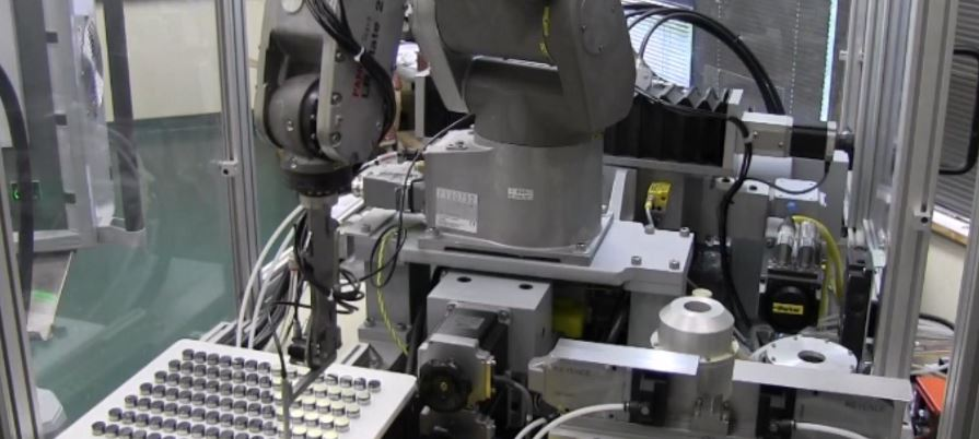 Six-Axis Robot Automation