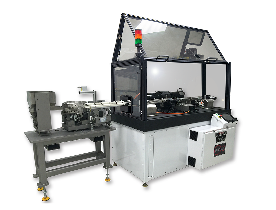 Fully Automated DD-7 with Safety Enclosure and Bowl Feeder