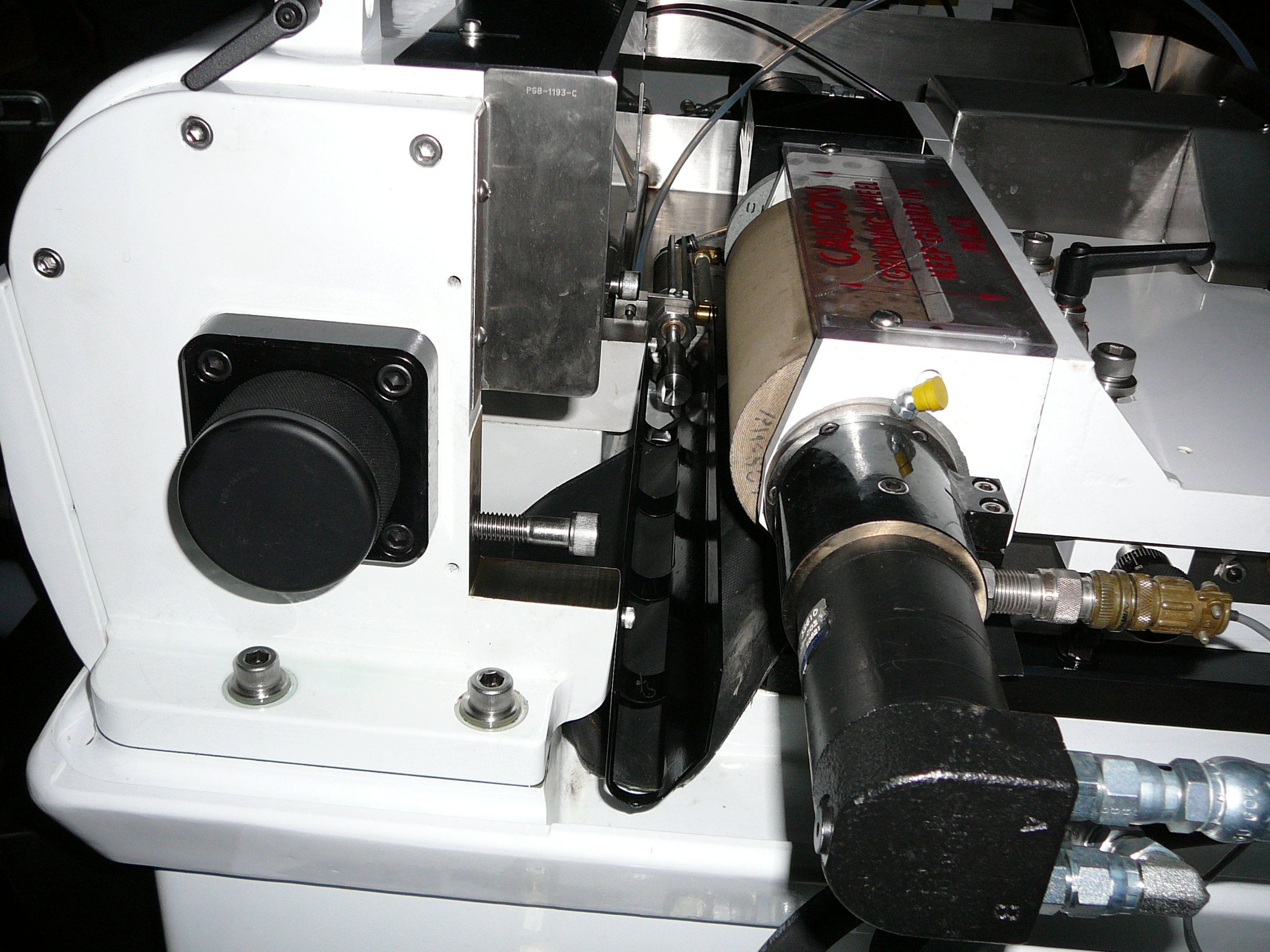 Twin Grip Spindle and 15HP Motor